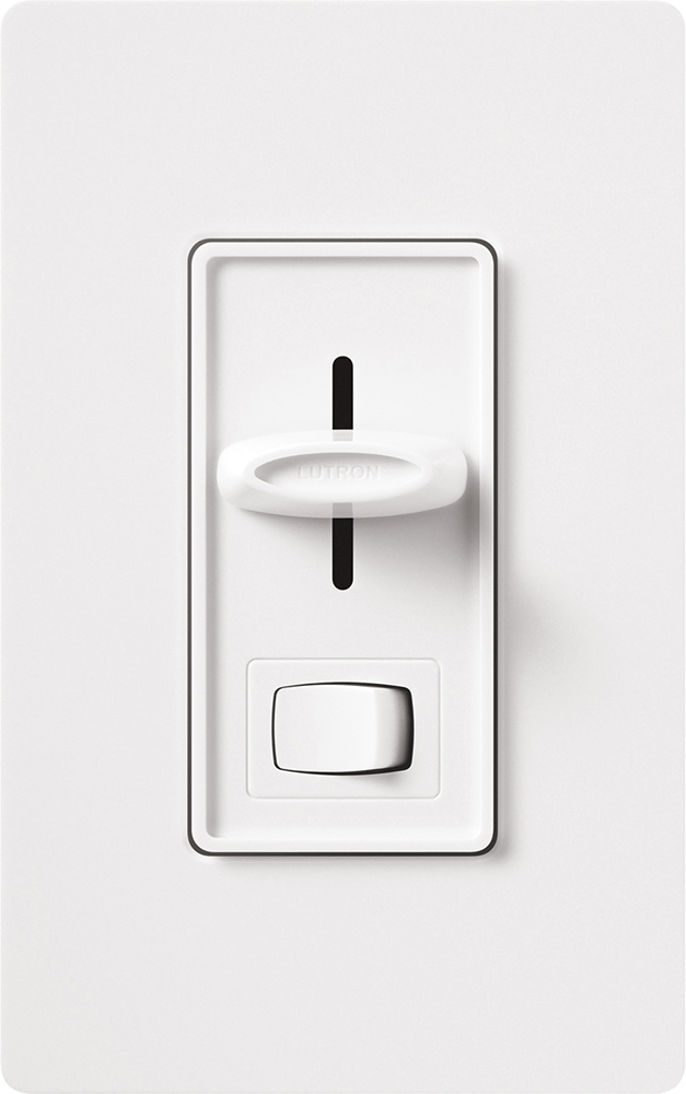 LUTRON S-103P-WH WHITE DIMMER