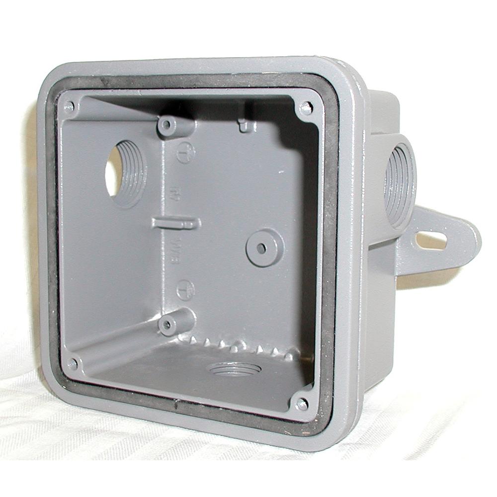 Federal Signal WB Gray Speaker Weatherproof Back Box