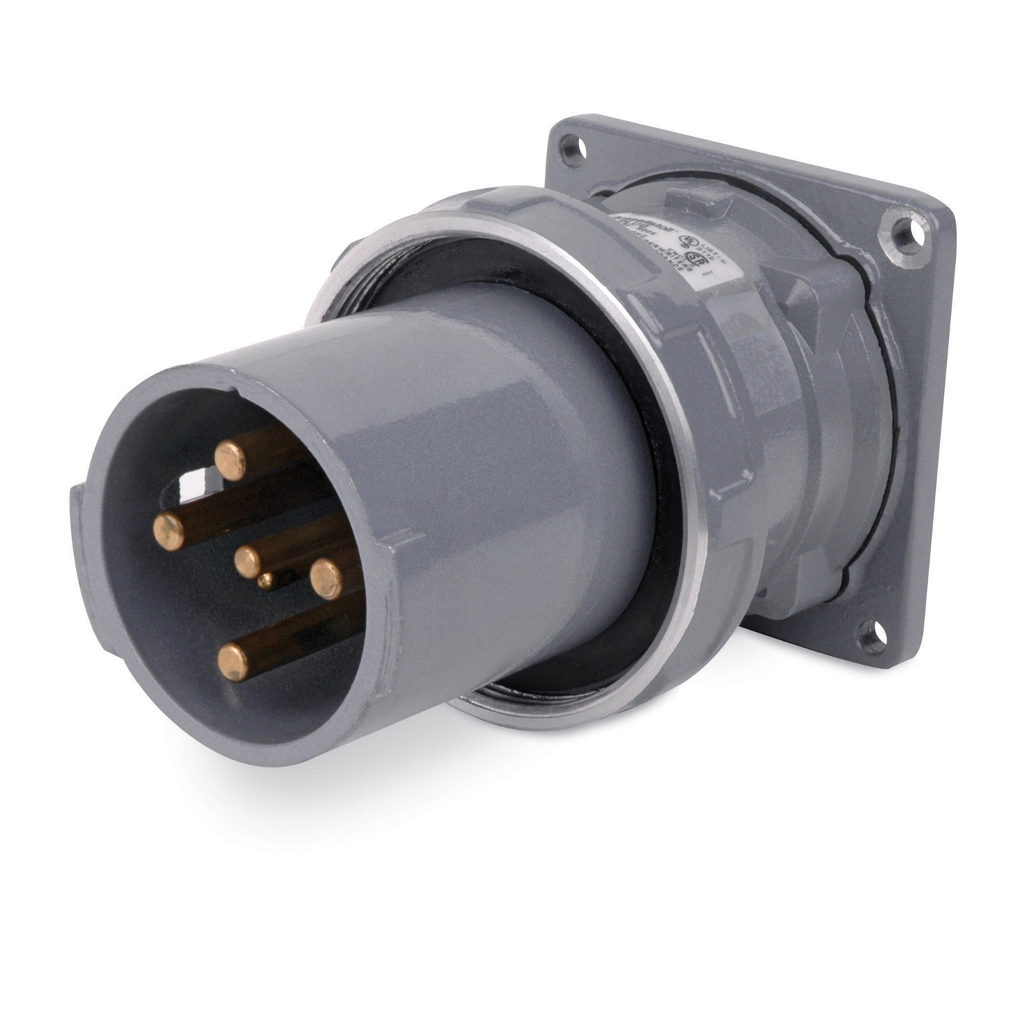 R&S DS6504MR000 4P5W 60A CB INLET