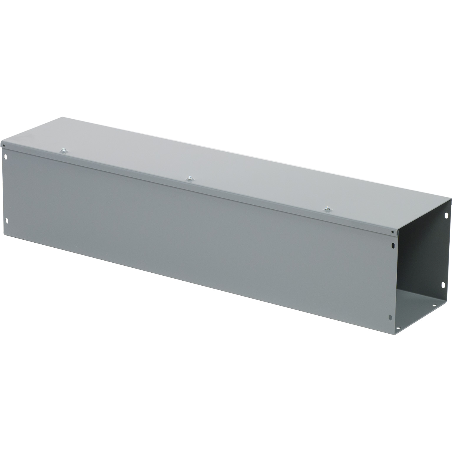 SQUARE D LDB83 8X8X3FT GRAY WIREWAY **CLOSING PLATES NOT INCLUDED - ORDER SEPARATELY