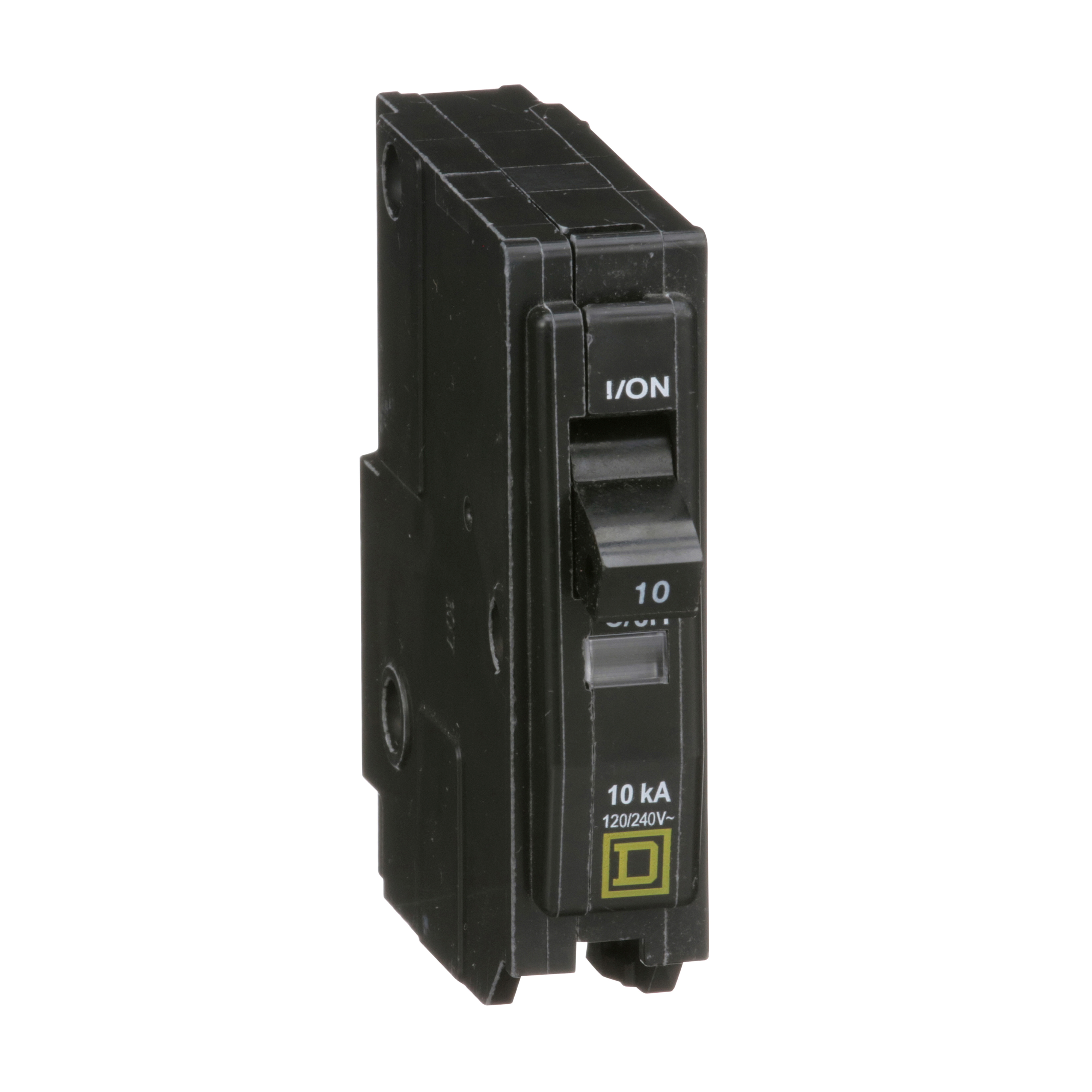 SQUARE D QO110 : MINIATURE CIRCUIT BREAKER 120/240V 10A