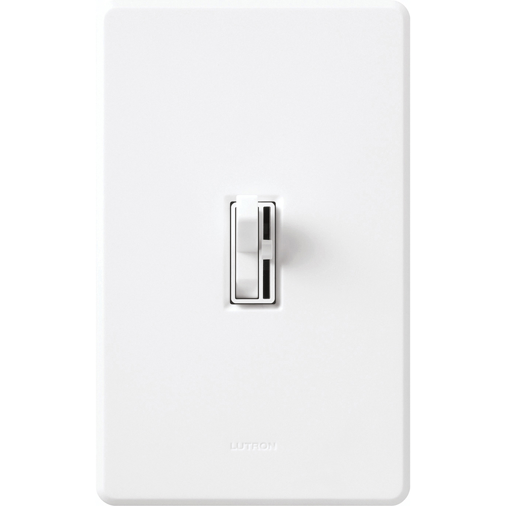 LUTRON AY-600P-WH WHITE DIMMER